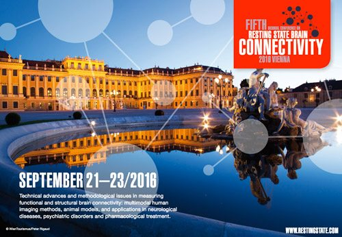 5th Biennial Conference on Resting State and Brain Connectivity 2016, Vienna, Austria