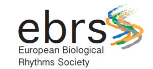 EBRS European Biological Rhythms Society 1