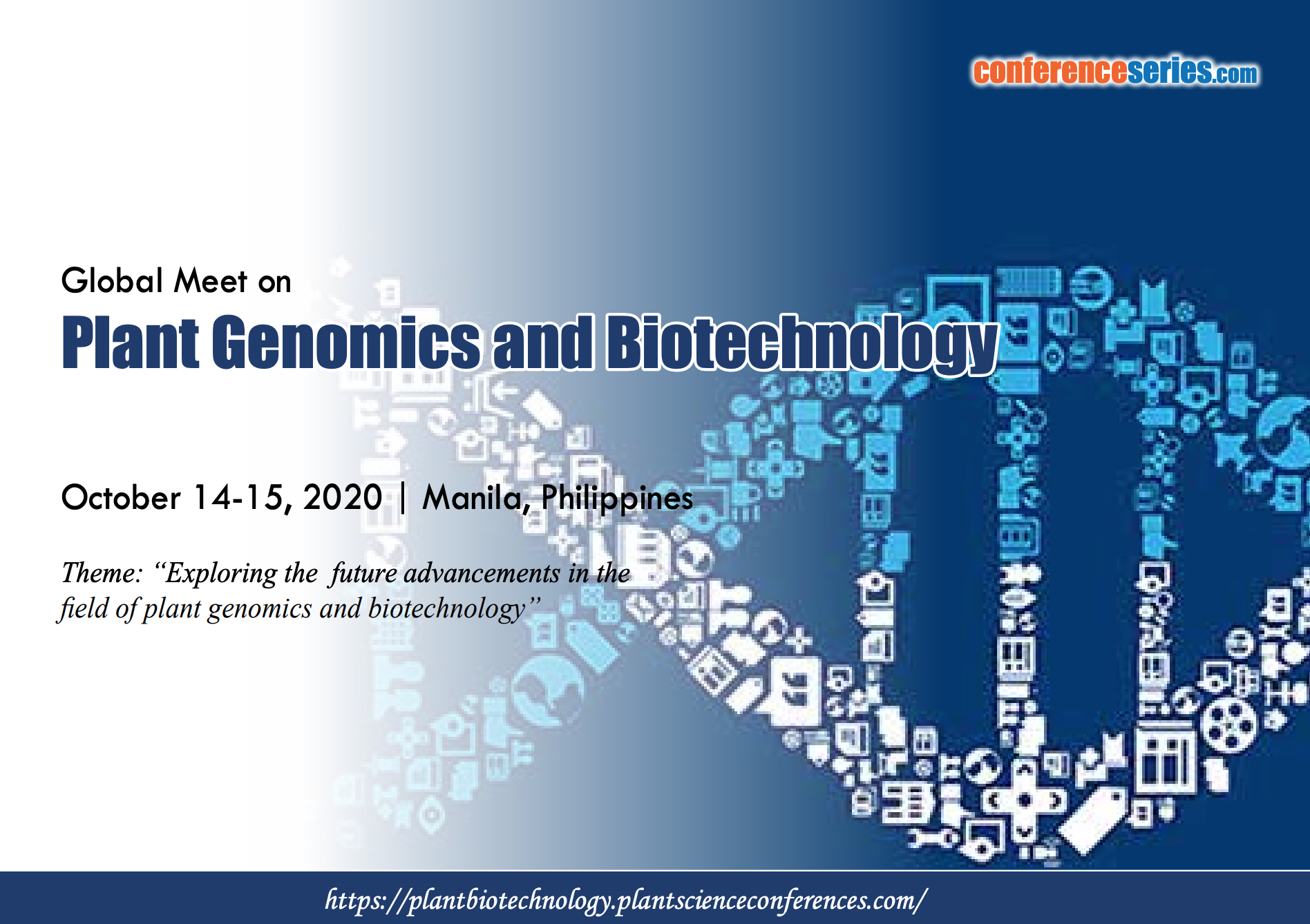 Global Meet on Plant Genomics and Biotechnology, Manila, Philippines